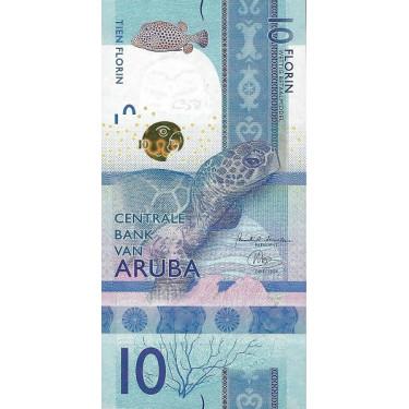 Aruba 10 Florin 2019 P-new