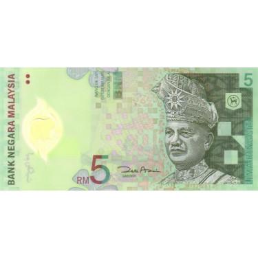 Malaysia 5 Ringgit ND 2004...