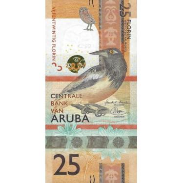 Aruba 25 Florin 2019 P-new