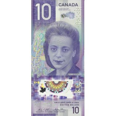 Canada 10 Dollars 2018 P-new