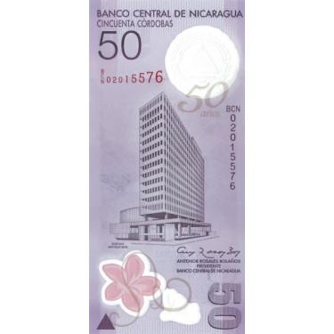 Nicaragua 50 Cordobas 2009...