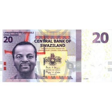 Swaziland 20 Emalangeni...