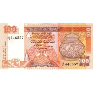 Sri Lanka 100 Rupees 1992...