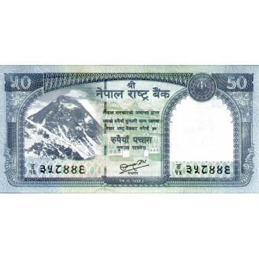 Nepal 50 Rupees 2012  P-72