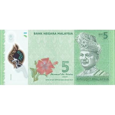 Malaysia 5 Ringgit ND 2011...