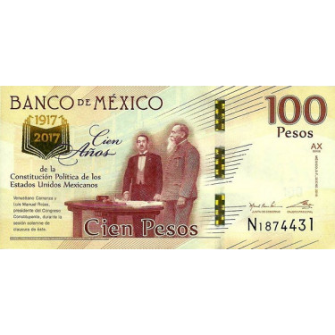 Mexiko 100 Pesos 2016 P-130d