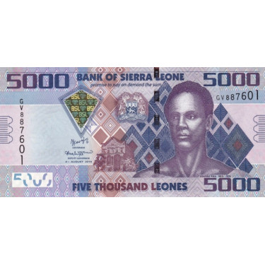 Sierra Leones 5000 Leones...