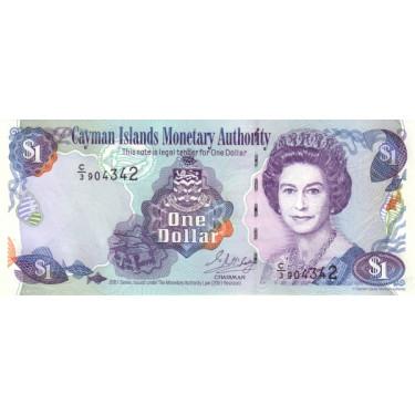 Caymanöarna 1 Dollar 2001...