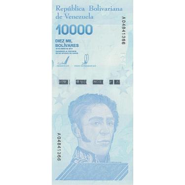 Venezuela 10 000 Bolivares...