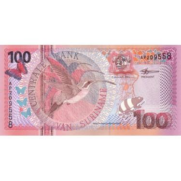 Suriname 100 Gulden 2000 P-149