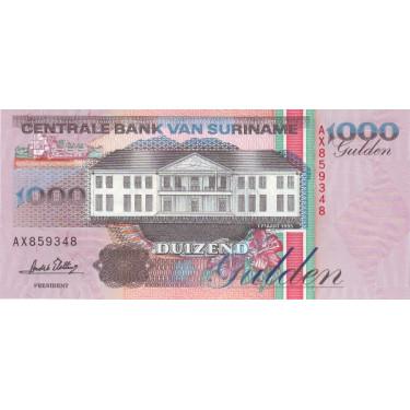 Surinam 1000 Gulden 1995...