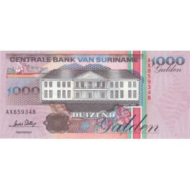 Suriname 1000 Gulden 1995...