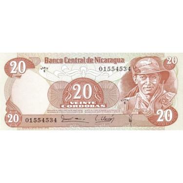 Nicaragua 20 Cordobas 1979...