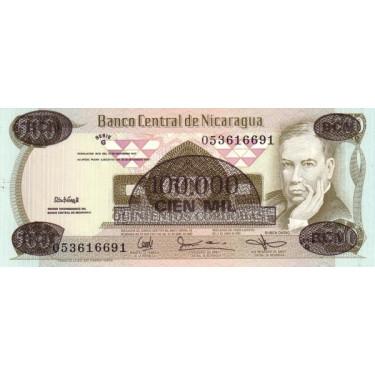 Nicaragua 100 000 Cordobas...