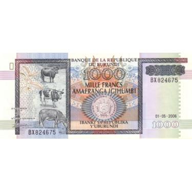 Burundi 1000 Francs 2006 P-39d