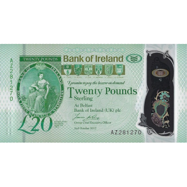 Northern Ireland 20 Pounds...
