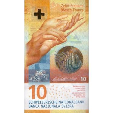 Switzerland 10 Franken 2016...