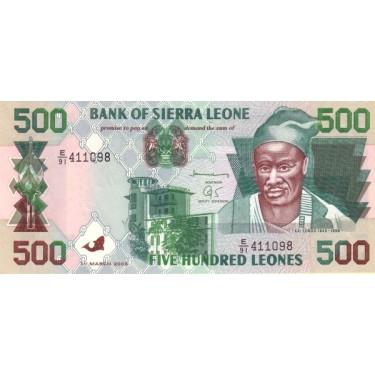 Sierra Leone 500 Leones...