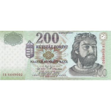 Ungern 200 Forint 2004 P-187d
