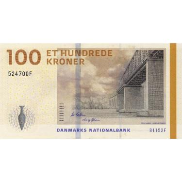 Denmark 100 Kroner 2015 P-66d2