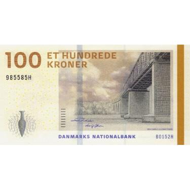 Denmark 100 Kroner 2015 P-66d3