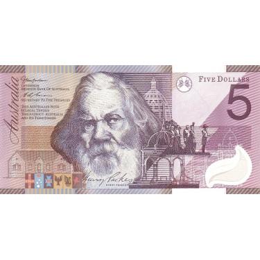 Australia 5 Dollars 2001 P-56a