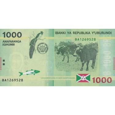 Burundi 1000 Francs 2015 P-51