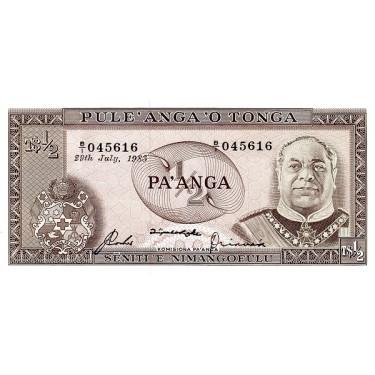 Tonga 1/2 Paanga 1983 P-18c