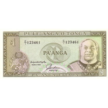 Tonga 1 Paanga ND P-25