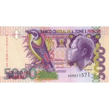 Sao Tome e Principe 5000...
