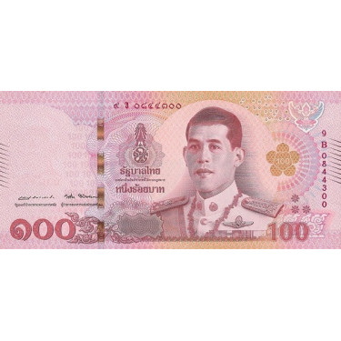 Thailand 100 Baht 2018 P-137b