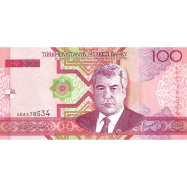 Turkmenistan 100 Manat 2005...