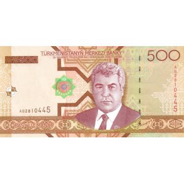 Turkmenistan 500 Manat 2005...