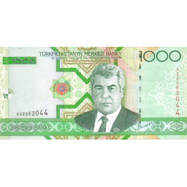 Turkmenistan 1000 Manat...