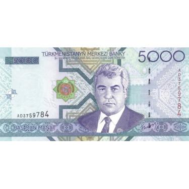 Turkmenistan 5000 Manat...