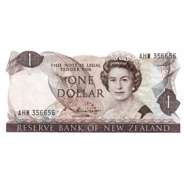 New Zealand 1 Dollar ND P-169b