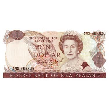 New Zealand 1 Dollar ND P-169c