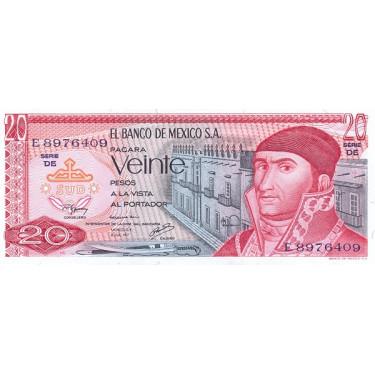 Mexico 20 Pesos 1977 P-64d