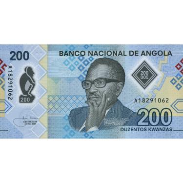 Angola 200 Kwanzas 2020 P-new