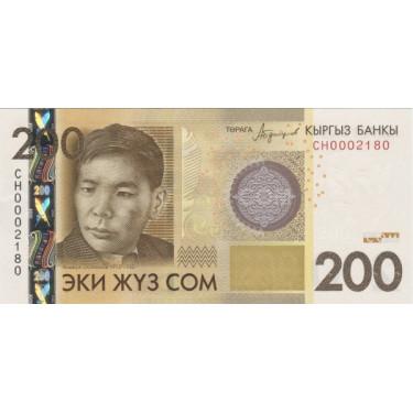 Kirgizistan 200 Som 2016 P-27