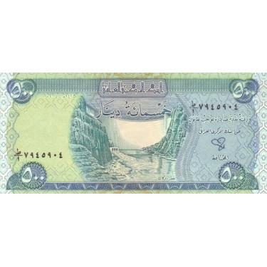 Iraq 500 Dinars 2004 P-92