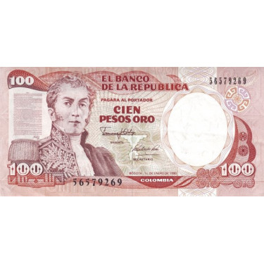 Colombia 100 Pesos 1990 P-426e