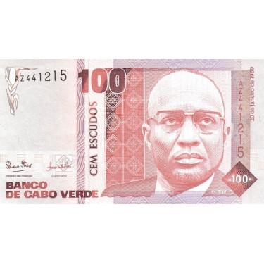 Cape Verde 100 Escudos 1989...