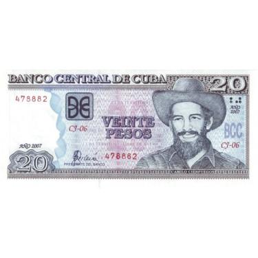 Kuba 20 Pesos 2007 P-122d
