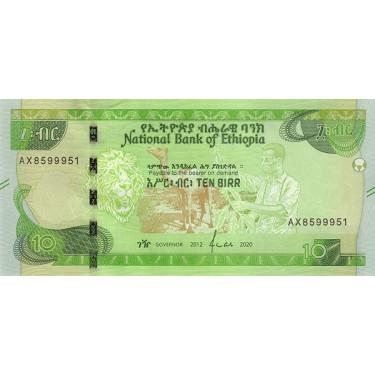 Ethiopia 10 Birr 2020 P-new