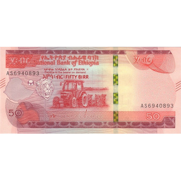 Etiopien 50 Birr 2020 P-new