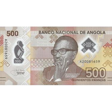 Angola 500 Kwanzas 2020 P-new