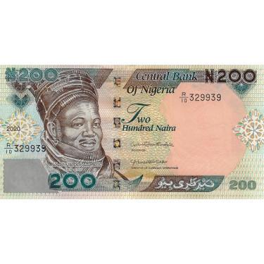 Nigeria 200 Naira 2020 P-29
