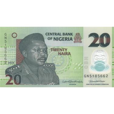 Nigeria 20 Naira 2020 P-34