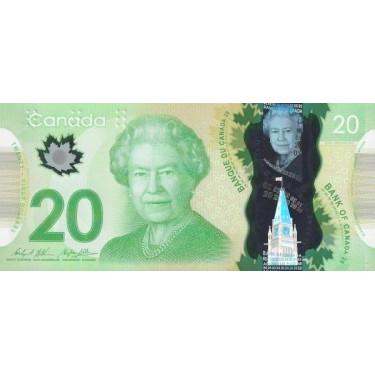 Canada 20 Dollars 2012 P-108